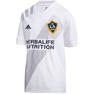adidas LA Galaxy Youth Home Jersey 2020-2021 EH6521