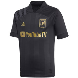adidas LAFC Youth Home Jersey 2020-2021 EH6532