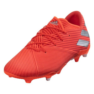 adidas Nemeziz 19.2 FG - Active Red/Silver Metallic F34385