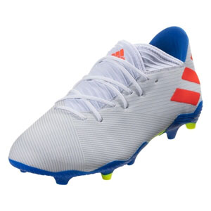 adidas Nemeziz Messi 19.3 FG - White/Solar Red/Football Blue F34400