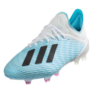 adidas X 19.1 FG - Bright Cyan/Core Black F35316
