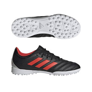 64efe1c640f adidas Copa 19.3 Jr TF - Black Solar Red Turf F35462