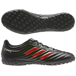 adidas Copa 19.4 TF - Black/Red Turf F35482
