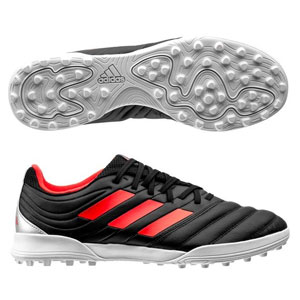 adidas Copa 19.3 TF - Core Black/Hi Res Red Turf F35506