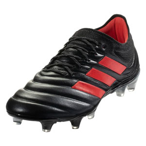 c85ab2924 adidas Copa 19.1 FG - Core Black HI Res Red F35518