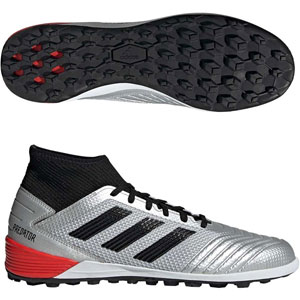 adidas Predator 19.3 TF - Silver Metallic/Core Black F35629