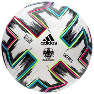 adidas UNIFORIA Euro 2020 Official Match Soccer Ball FH7362