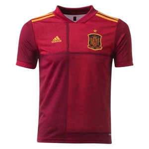 adidas Spain Youth Home Jersey 2020 FI6237