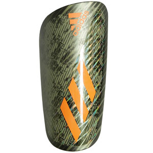 adidas X Pro Shin Guard - Legacy Green/Solar Orange FK0484
