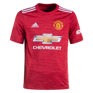 adidas Manchester United Youth Home Jersey 2020-2021 FM4292