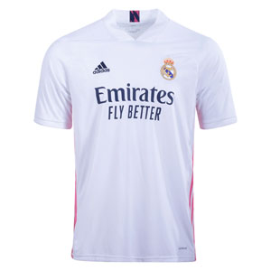 adidas Real Madrid Home Jersey 2020-2021 FM4735