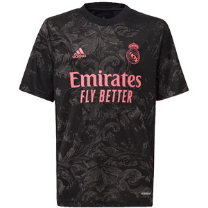 adidas Real Madrid Youth Third Jersey 2020-2021 FQ7477