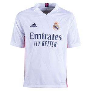adidas Real Madrid Youth Home Jersey 2020-2021 FQ7486