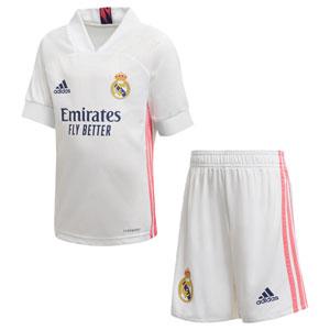adidas Real Madrid Home Mini Kit 2020-2021 FQ7487