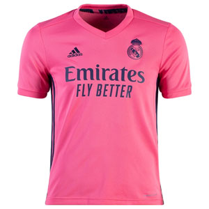 adidas Real Madrid Youth Away Jersey 2020-2021 FQ7493