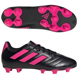 adidas Goletto VII FG - Core Black/Shock Pink  FV2895