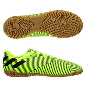 adidas Junior Nemeziz 19.4 IN - Lime/Black Indoor FV4012