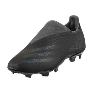 adidas X Ghosted.3 Laceless FG - Core Black/Grey Six FW3541
