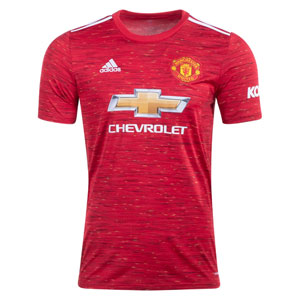 adidas Manchester United Home Jersey 2020-2021 GC7958