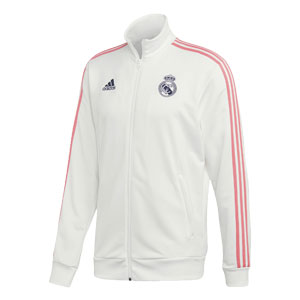adidas Real Madrid 3 Stripes Track Jacket 2020-2021 GH9996