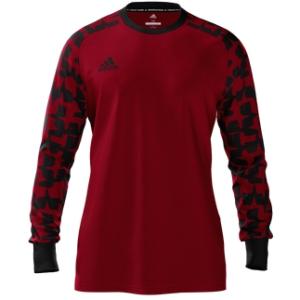 64c84c001 adidas Youth Mi Assita 17 Goalkeeper Jersey - Red Black MIAD2US37945206