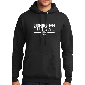 Birmingham Futsal Hooded Sweatshirt - Black BHF-PC78H