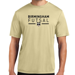 Birmingham Futsal Performance Shirt - Gold BHF-ST350Gold