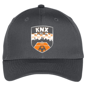 Knoxville Futsal Custom Hat - Steel Grey C913-KVFC
