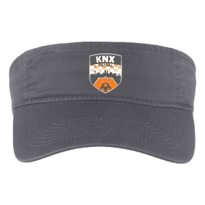 Knoxville Futsal Custom Visor - Grey CP45-KNXF