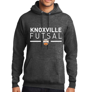 Knoxville Futsal Hooded Sweatshirt - Black KNX-PC78H