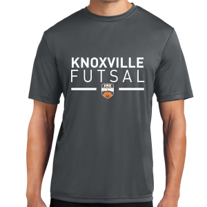 Knoxville Futsal Short Sleeve Performance Shirt - Black KNX-ST350