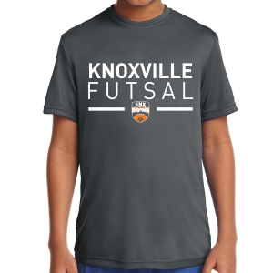 Knoxville Futsal Youth Performance Shirt - Black KNX-YST350