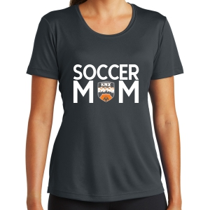 Knoxville Futsal Women's Soccer Mom Performance Shirt - Iron Grey LST350-KF