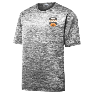 Knoxville Futsal Heather Performance Shirt - Black/Electric ST390-KNX