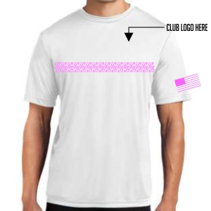 Breast Cancer Awareness Youth Shirt - White YST350-BC-White
