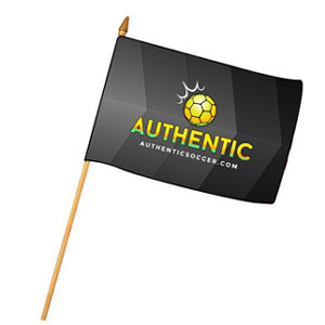 Mini Flag - Authentic Soccer  AU-Mini
