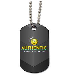Authentic Soccer Dog Tag AU-Dogtag