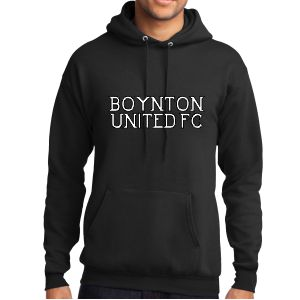 Boynton United Hooded Sweatshirt - Black PC78H-BU