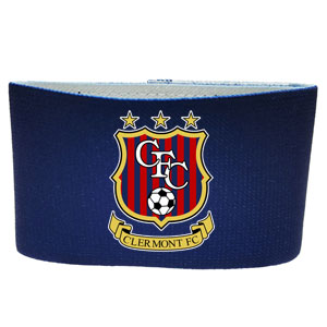 Clermont FC Custom Guard Stay - Navy CFC-NVYGSTY