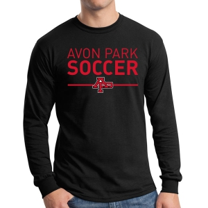 Avon Park Soccer Long Sleeve T-Shirt - Black AP-G5400