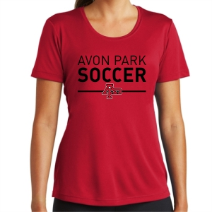 Avon Park Women's Performance Shirt - Red AP-LST350-R