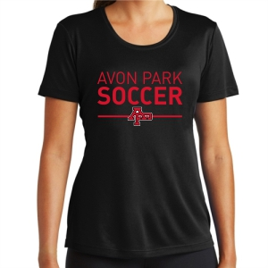 Avon Park Women's Performance Shirt - Black AP-LST350