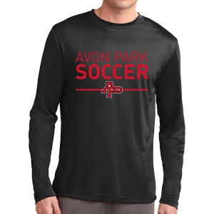 Avon Park Long Sleeve Performance Shirt - Black AP-ST350LS