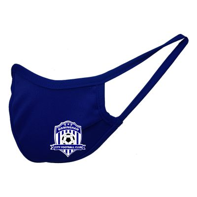 Birmingham City Football Club Custom Performance Face Mask - Navy BCFC-MSKNY