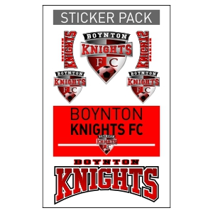 Boynton Knights Sticker Pack BK-STICKER