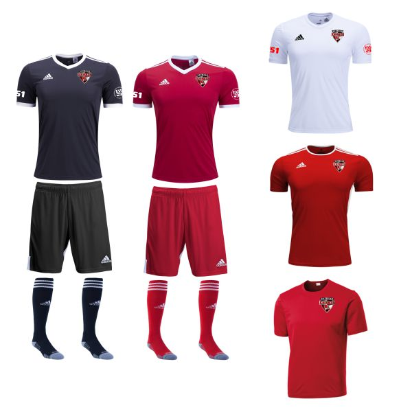 Boynton Knights FC - Youth Required Uniform Kit BKN-YTUKT
