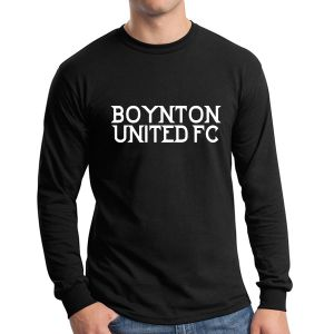 Boynton United Long Sleeve T-Shirt - Black G5400-BU