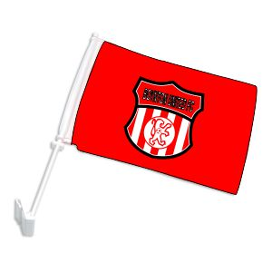 Boynton United Custom Car Flag CarFlag-BU