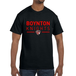 Boynton Knights T-Shirt - Black G500-BK