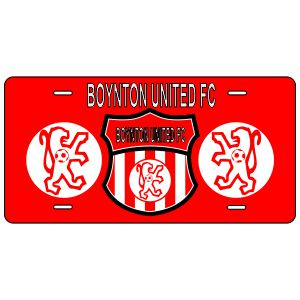 Boynton United Custom License Plate LicensePlate-BU